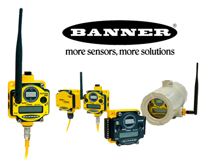 Banner more sensors more solutions. Wireless solutions